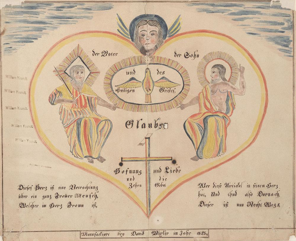 The Father, the son, and the Holy Spirit (Der Vater, der Sohn, und der heilige Geist)