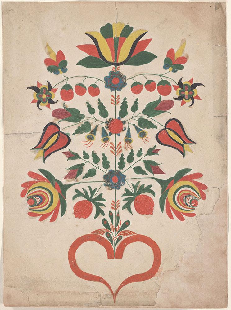 Drawing (Tree-like Flower)