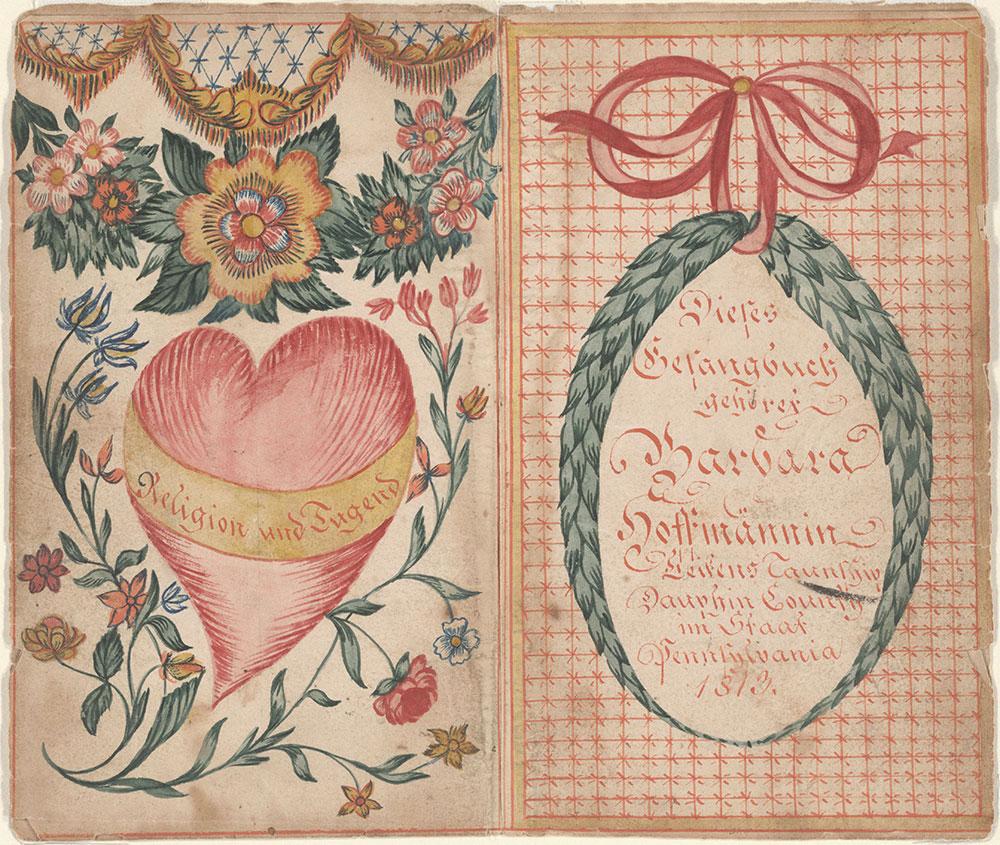 Bookplate (Bücherzeichen) for Barbara Hoffman