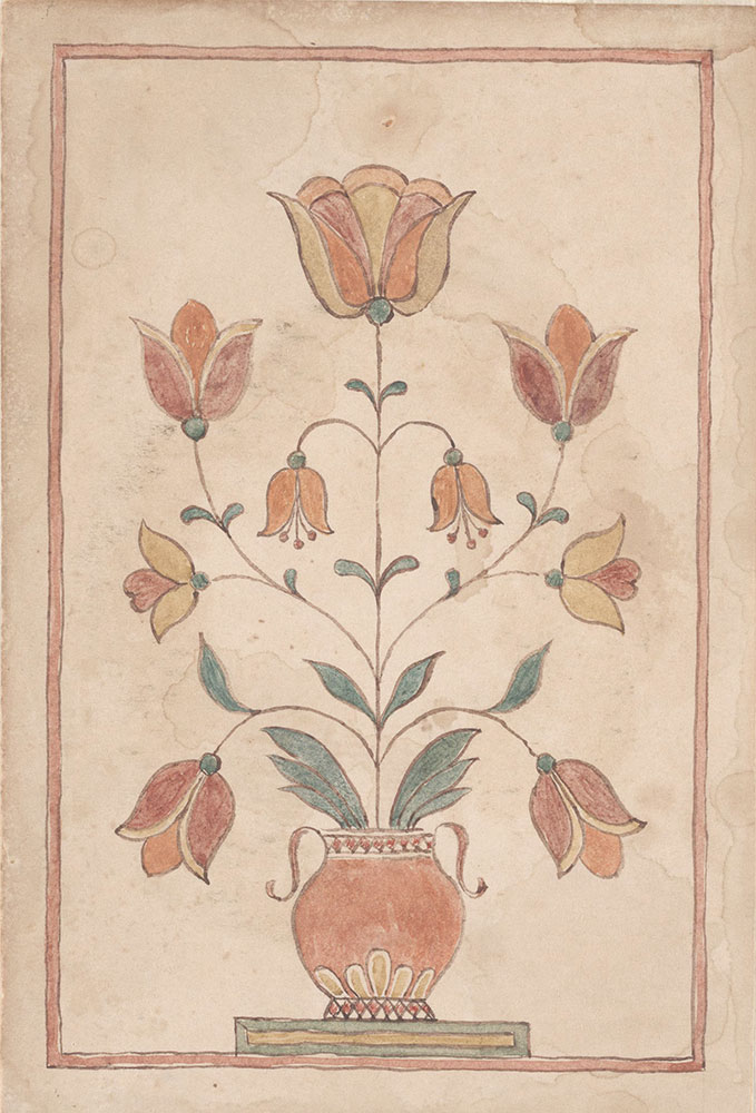 Drawing (Vase with Flowers)