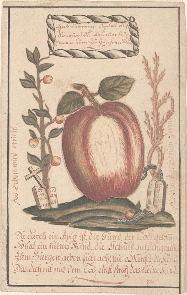 Pick up this apple (Heb diesen Apfel auf)