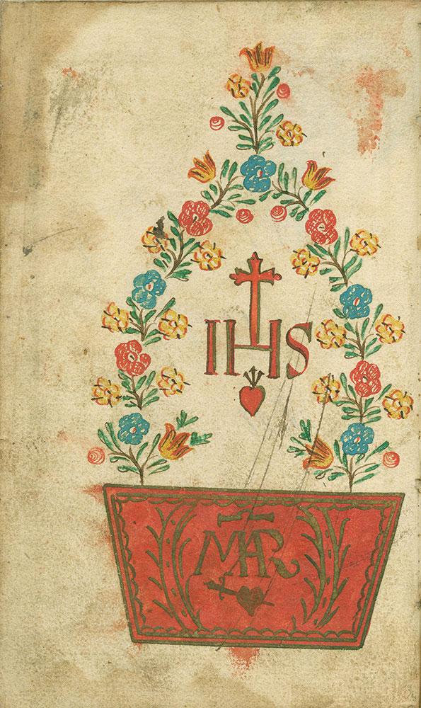 Himmlischer Palm Zweig Worinen die Auserlesene Morgen Abend Auch Beicht und Kommunion Wie auch zum H. Sakrament In Christo und seinen Leiden, wie auch zur der H. Mutter Gottes, 1787