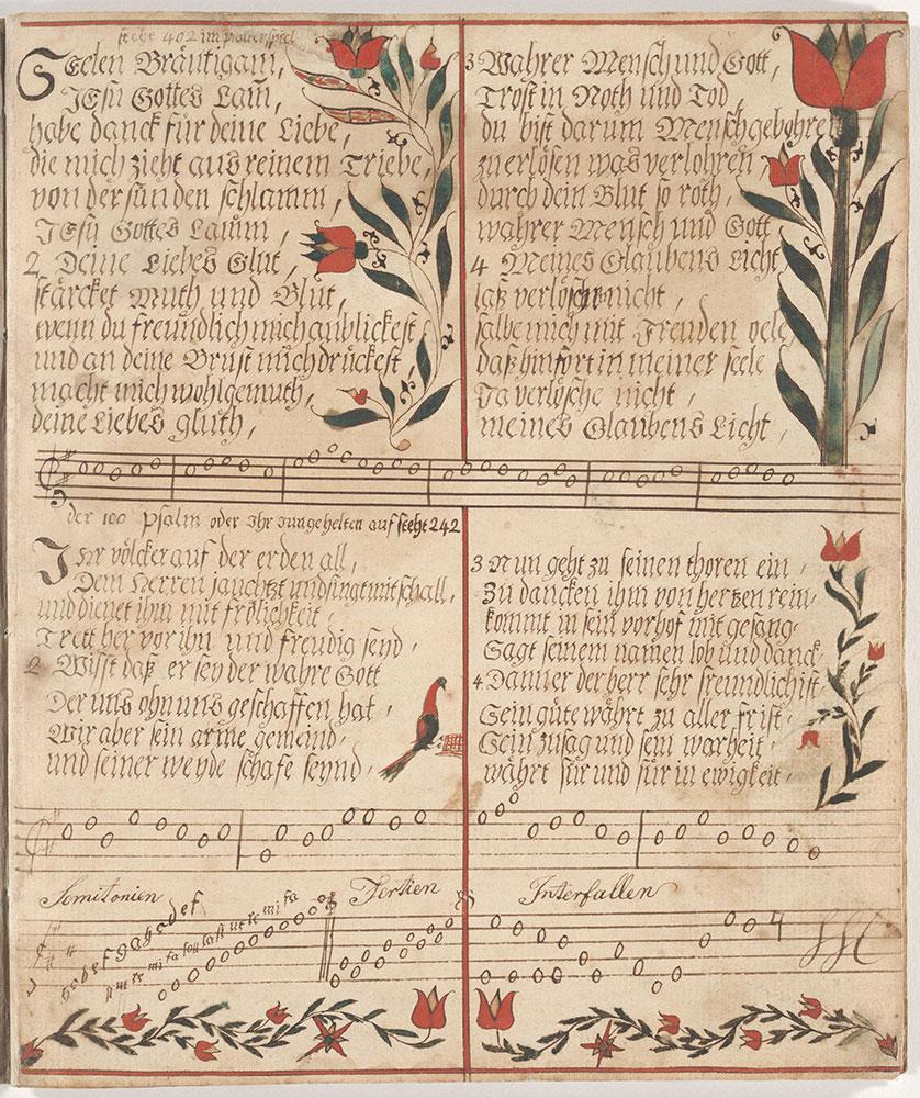 Fraktur Illustrated Psalms