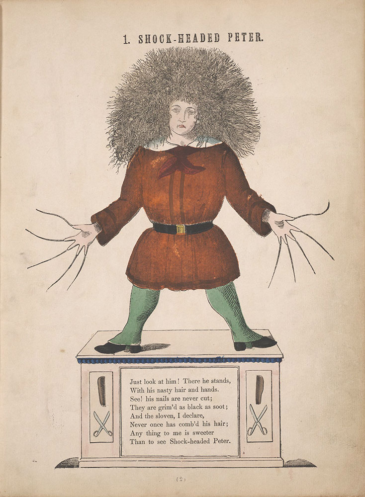 The English Struwwelpeter,