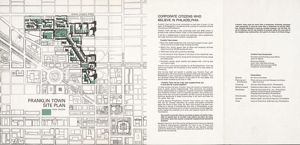 University of Pennsylvania Building Map & Key, 1926, Map