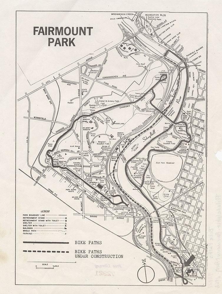 Fairmount Park, [1967], Map