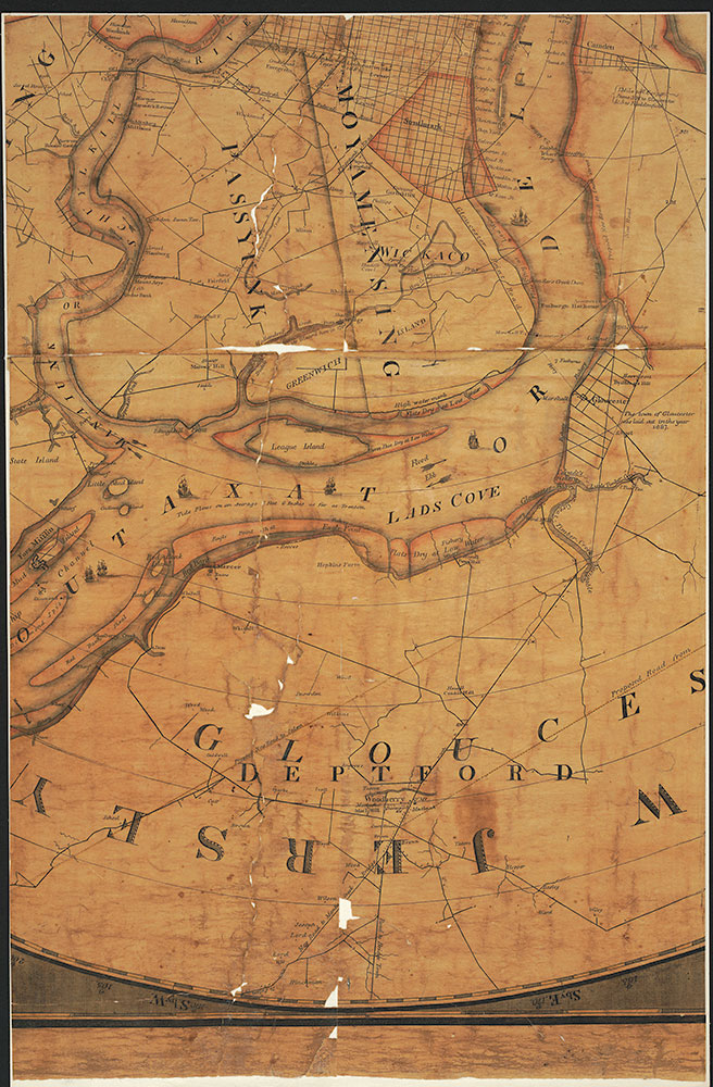 Plan of the city of Philadelphia and Environs, 1809, Map [Section 5 of 6]