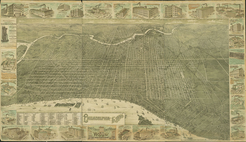 Philadelphia in 1886, Perspective