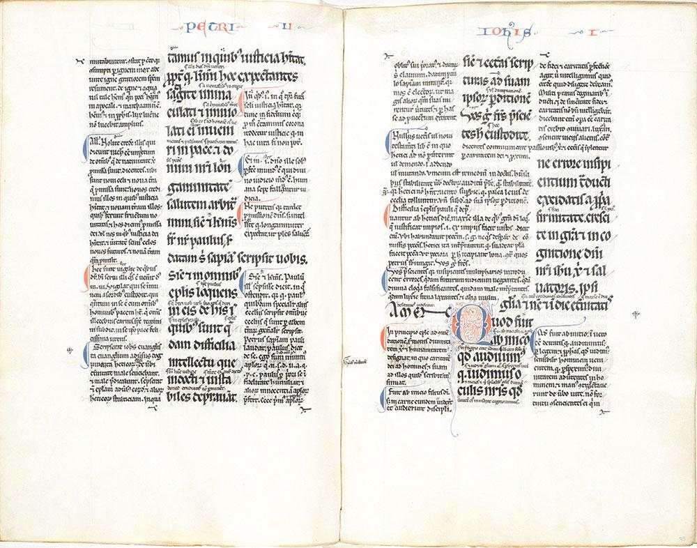 Bible, with glossa ordinaria