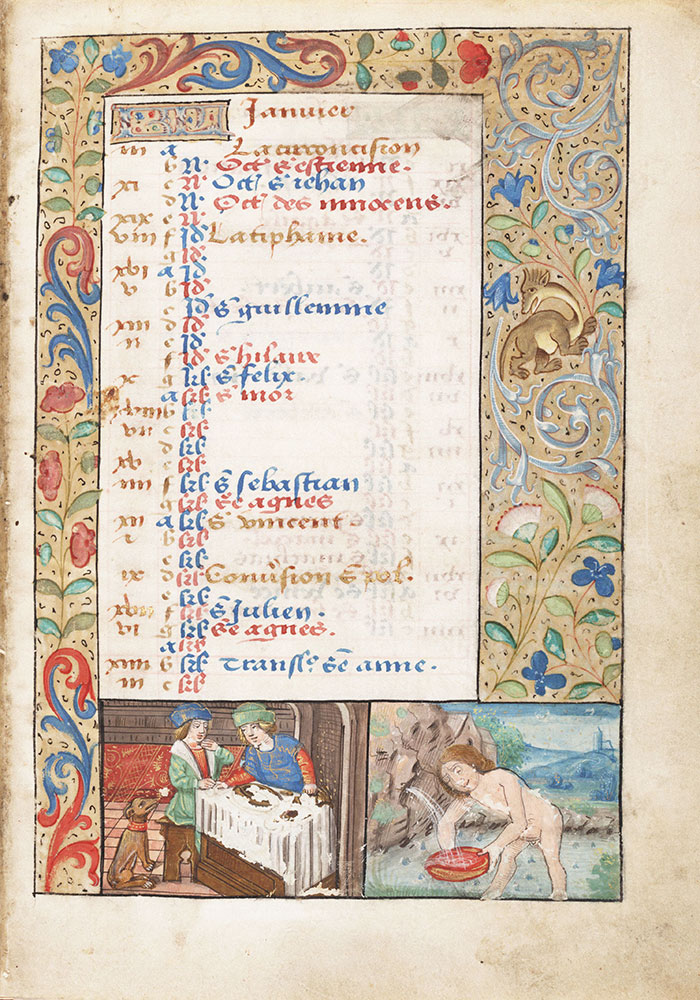 Book of Hours, use of Rouen