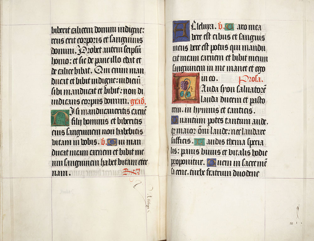 Missal, use of Rome