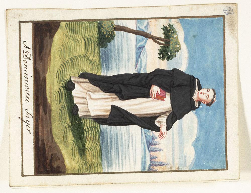 [Dominican friar]