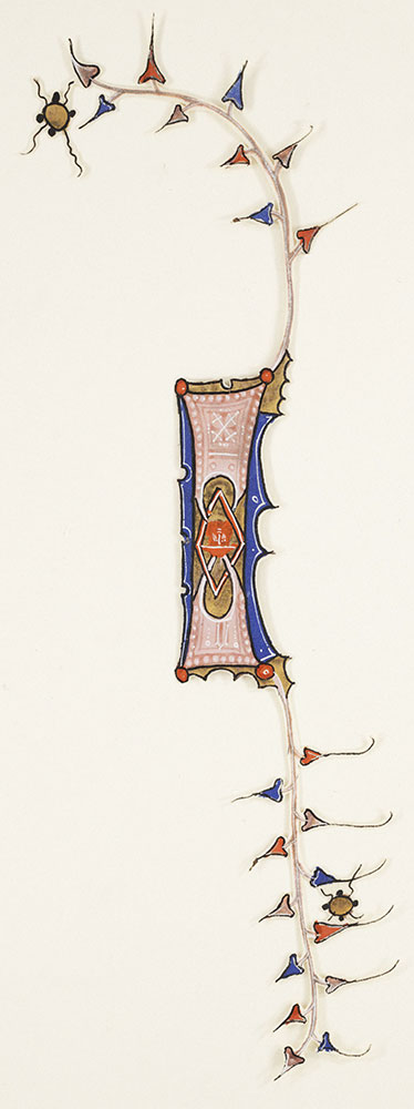 Decorated initial I