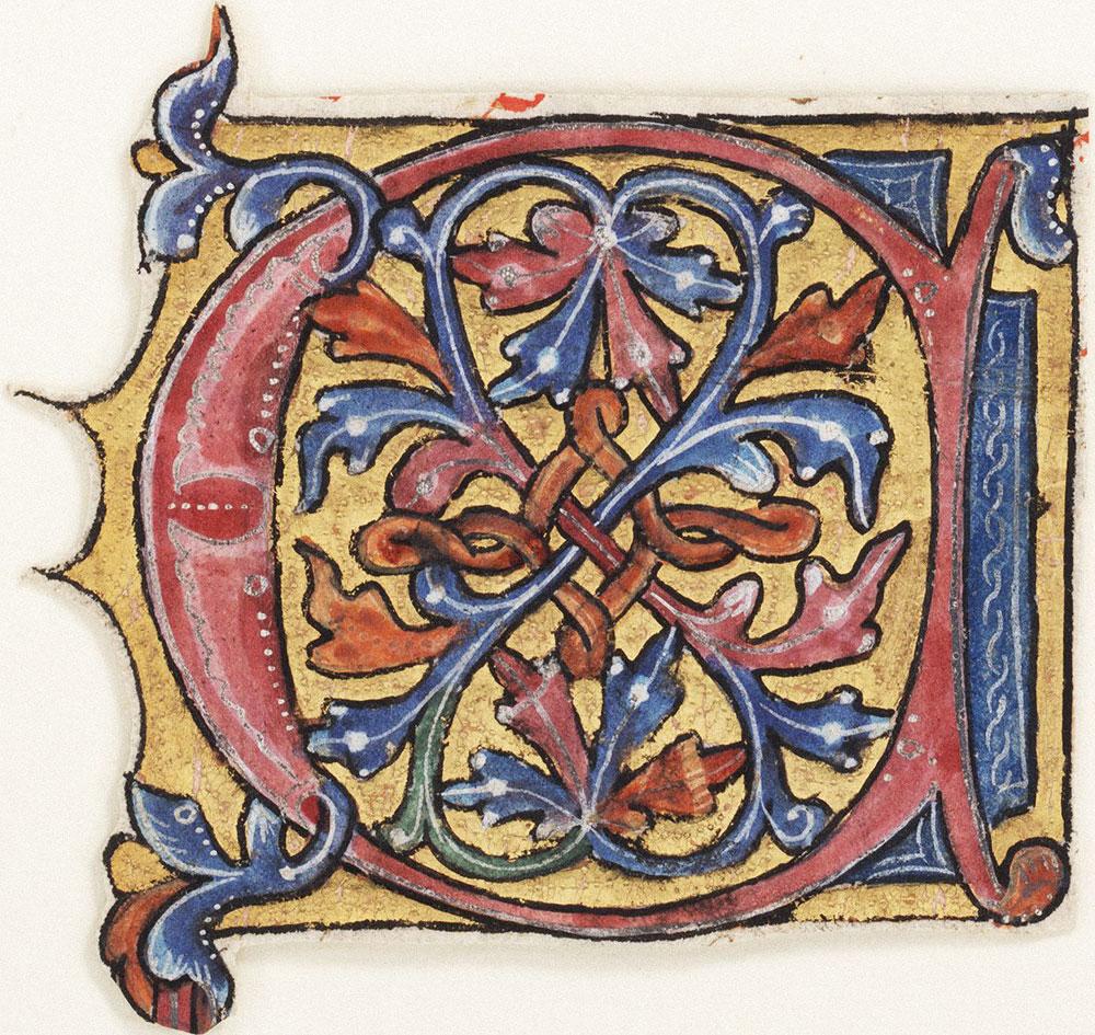 Decorated initial C