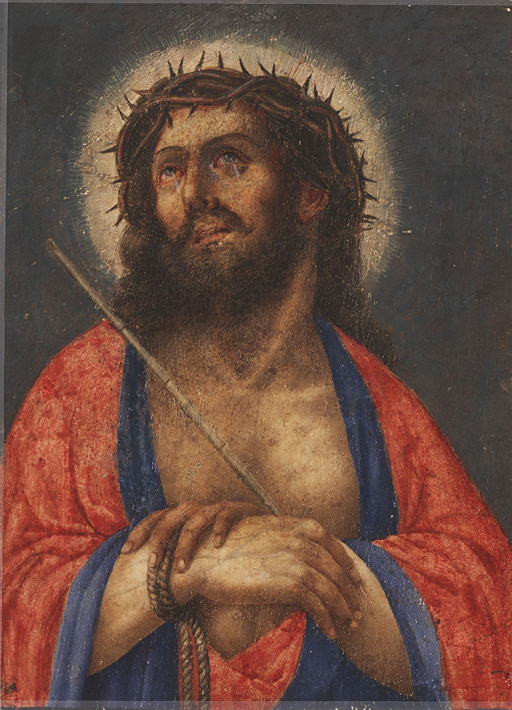 Painting of Christ crowned with thorns