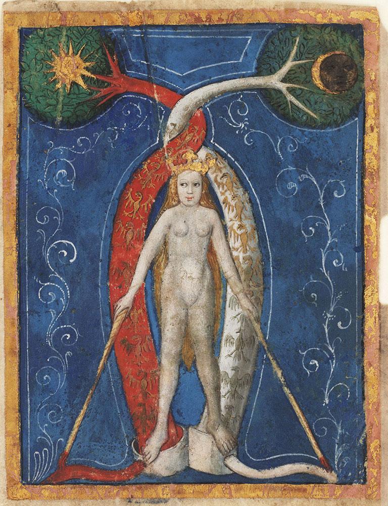 Miniature from an alchemical manuscript