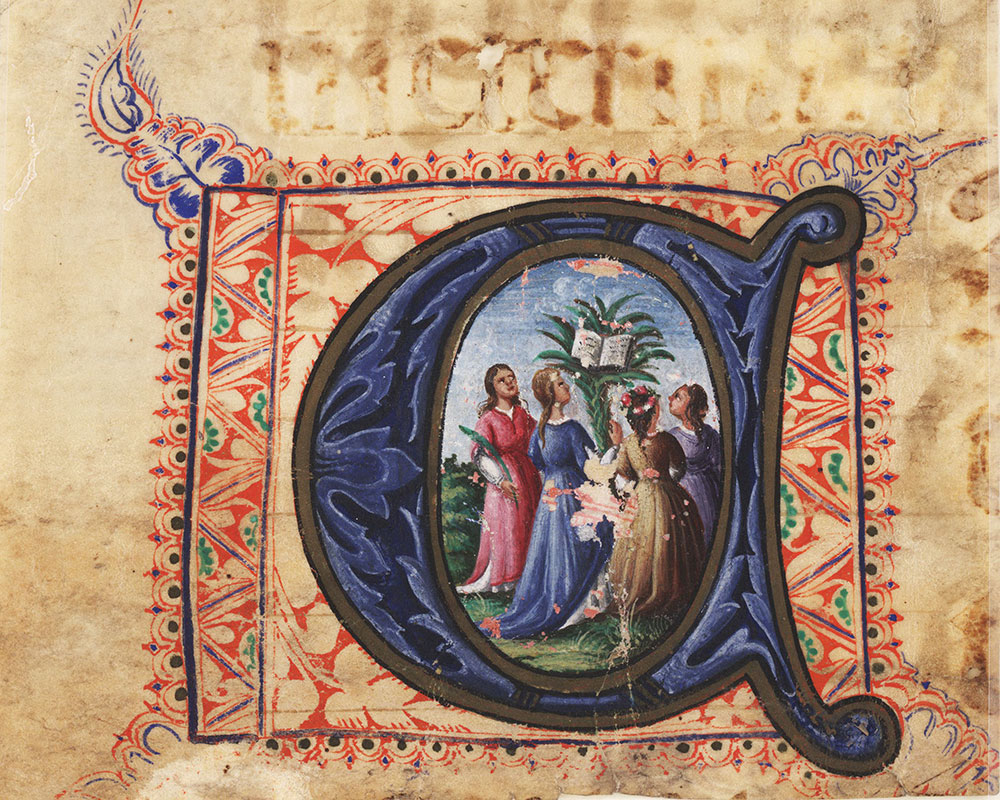 [Historiated Initial A]