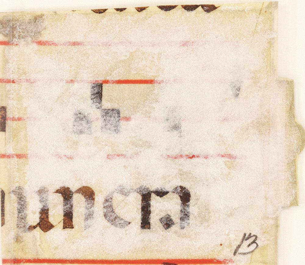 [Medieval Manuscript Fragment]
