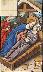 [Mary assisting with the sick]