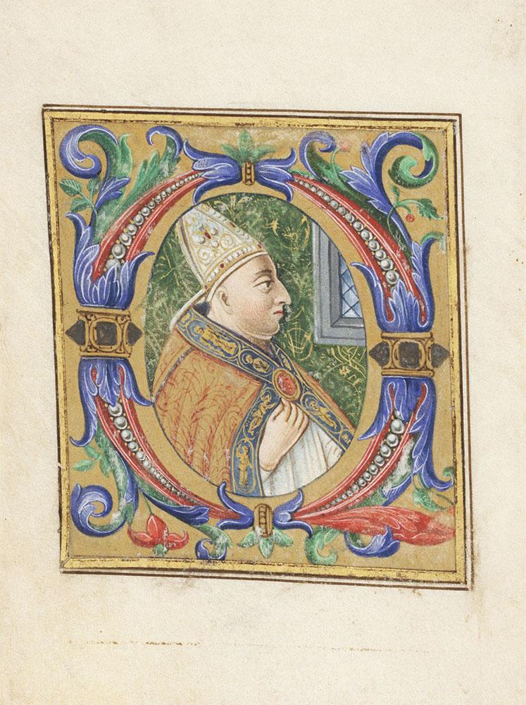 [Illuminated Medieval Manuscript Fragment]