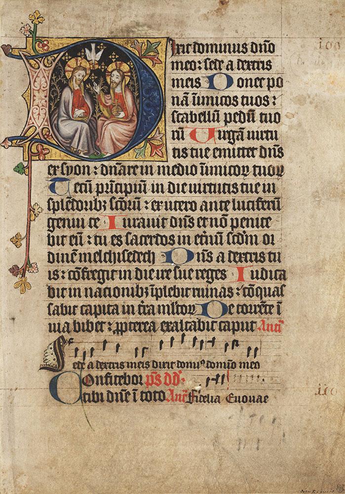 Choir psalter