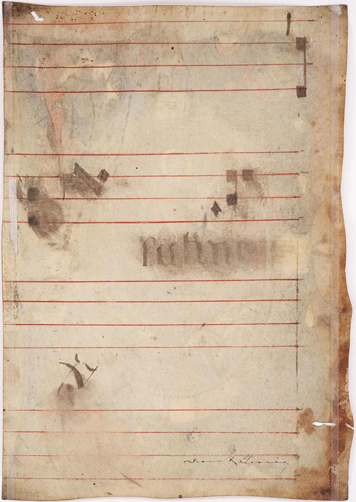 [Music Leaf Verso]
