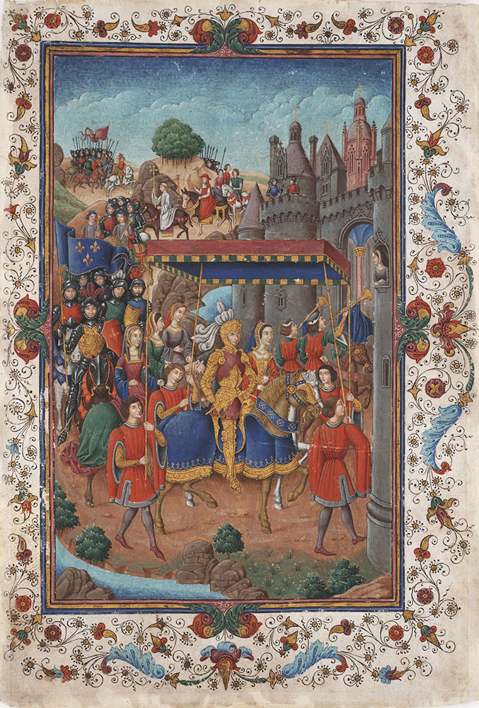 Triumphal Entry of a Princely Couple