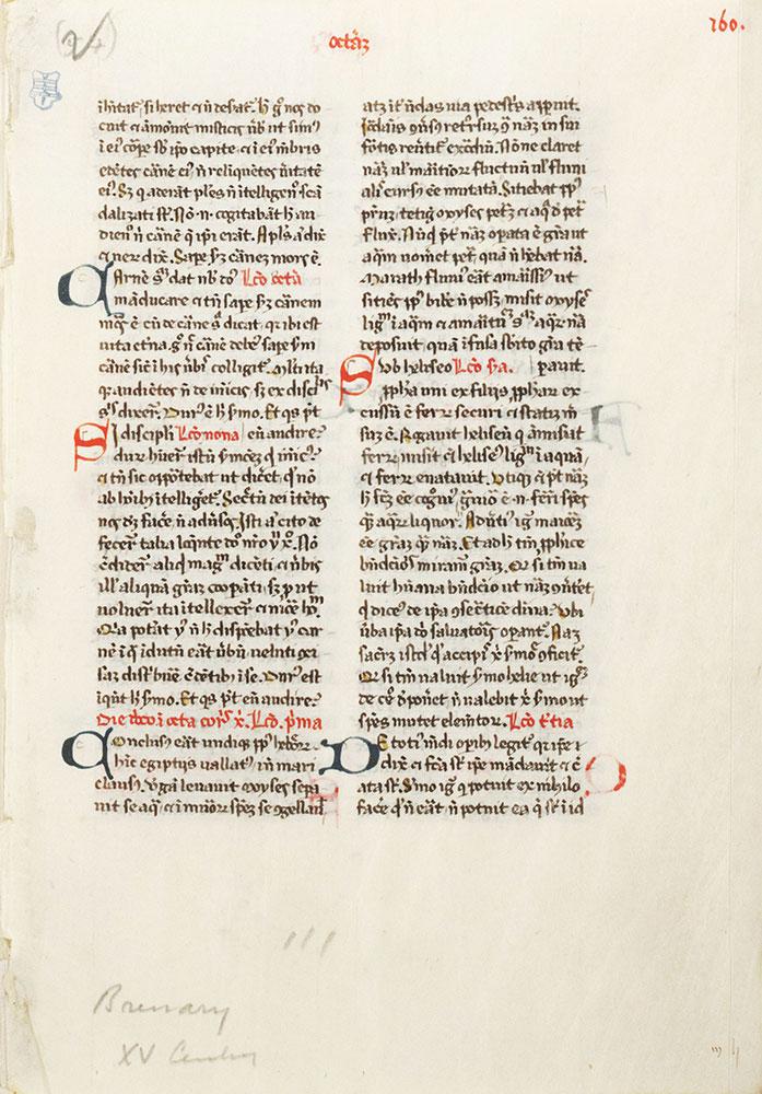 [Illuminated Manuscript Leaf]