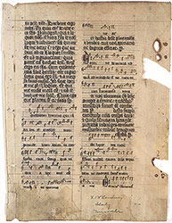 Missal: Second and Third Feriae after the Second Sunday in Lent, with neumes