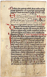 Missal: December 27-28, with neumes
