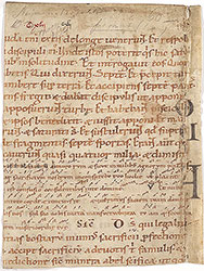 Missal with neumes