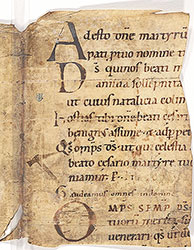 Missal: Feasts of St. Caesarius Martyr, All Saints, Dedication of a Church