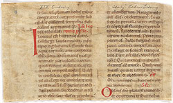 Missal: Epistle from Jeremiah, Gospel from Luke 8:22-26