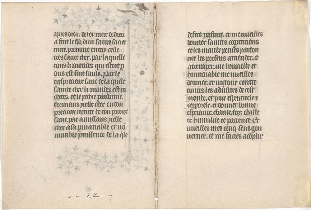 [Book of Hours (in French)]