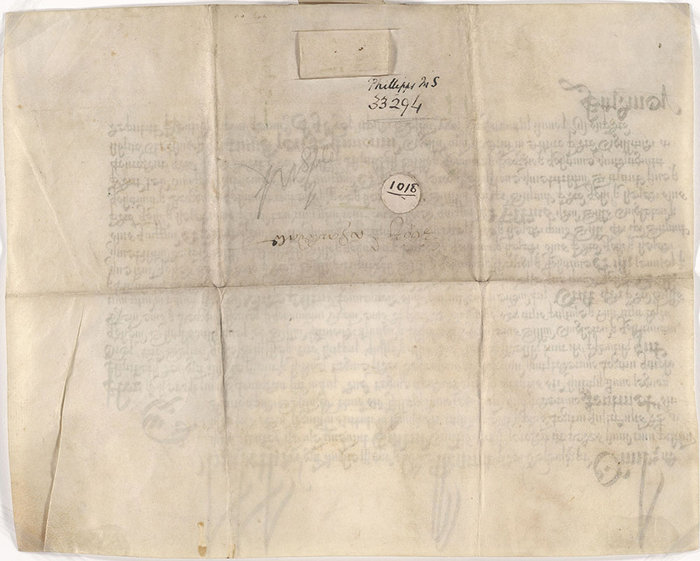 [Record of an Agreement made in the Queen's Court, Westminster, 1572]