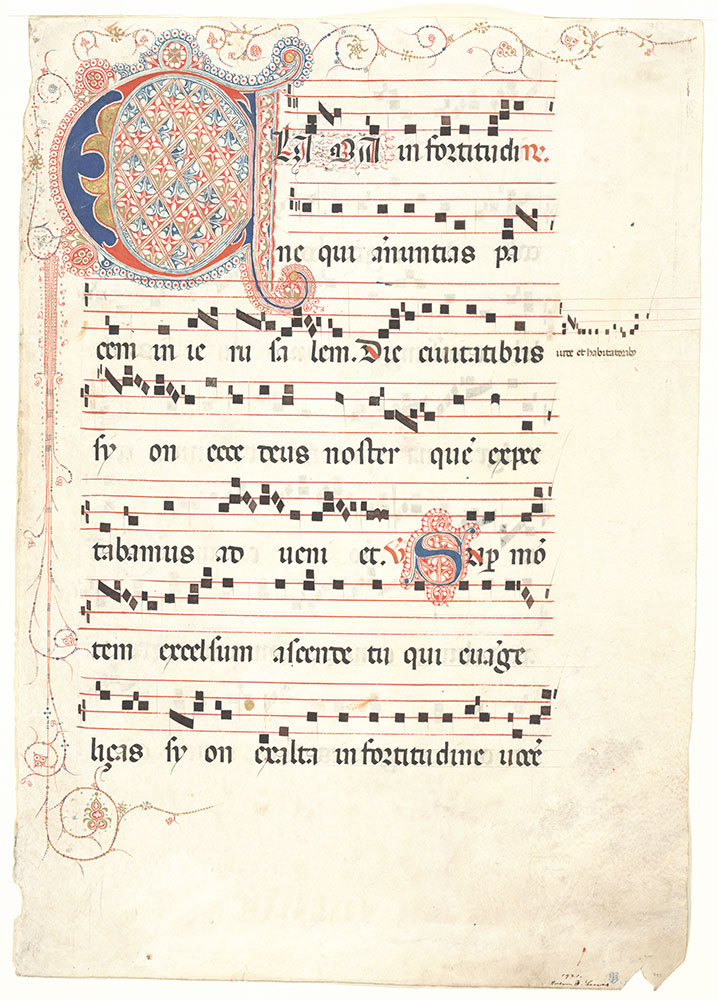 [Antiphonary: Feast of the Epiphany]