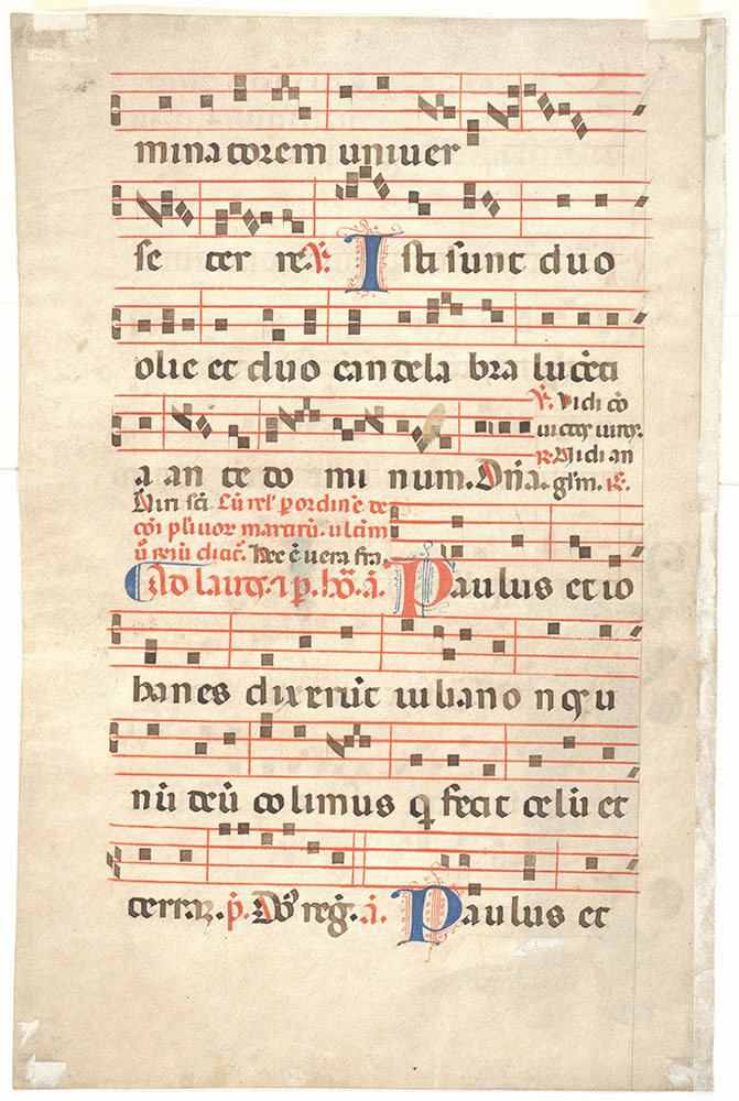 [Antiphonary: Feast of Saints John and Paul, June 26]