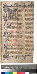 Missal: November 29, February 2, with most missing in between