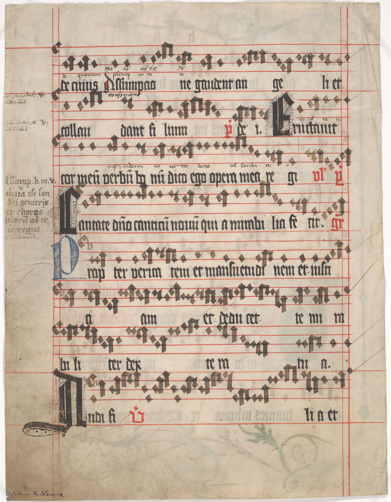 Music Manuscript] - Digital Collections - Free Library