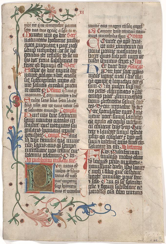 [Latin Religious Text]