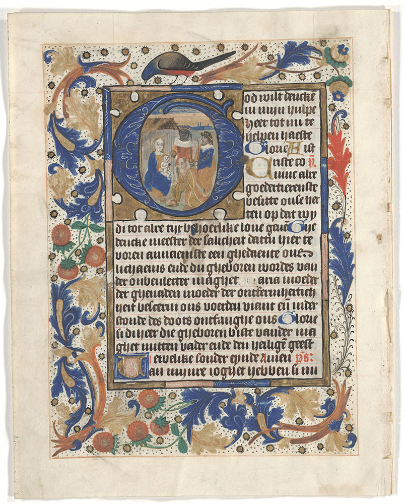 [Book of Hours by the Master of the Dark Eyes]