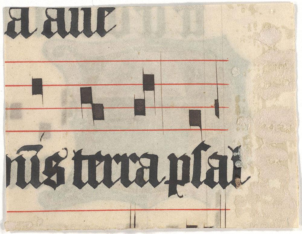 [Illuminated Initial E, Verso]