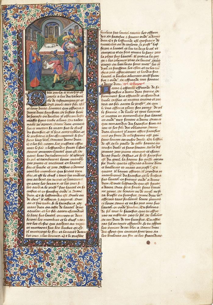Bible du XIIIe siècle