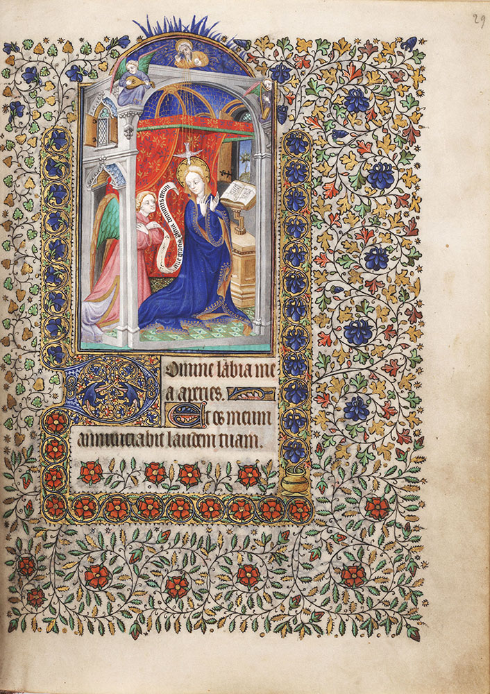 Book of Hours, use of Paris