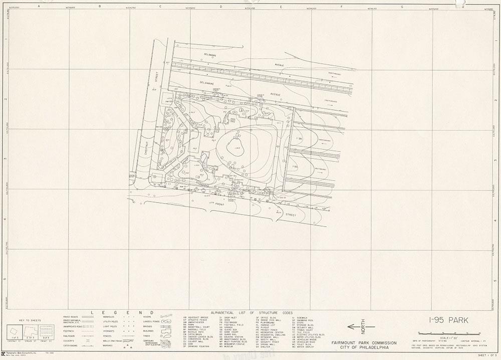 I-95 Park, 1983, Map 1