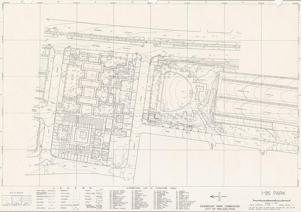 I-95 Park, 1983, Map 2