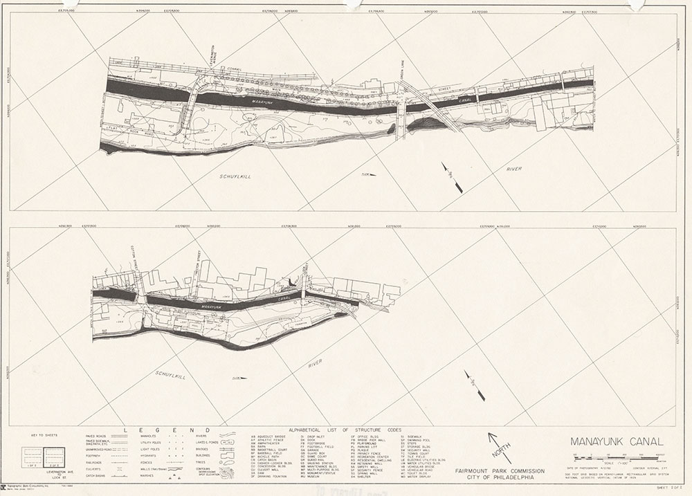 Manayunk Canal, 1982, Map 2