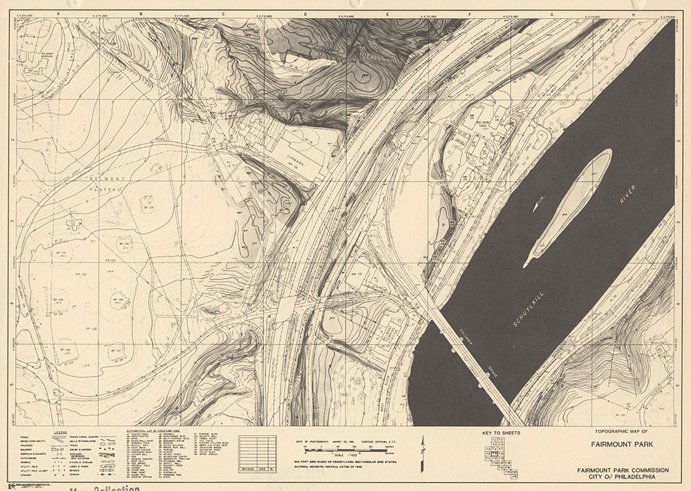 Fairmount Park, 1981, Map F-9