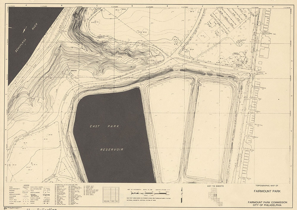 Fairmount Park, 1981, Map F-10