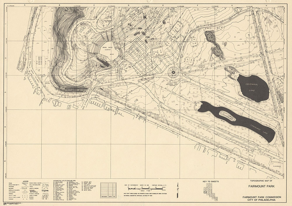 Fairmount Park, 1981, Map F-11